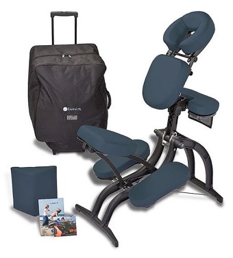 Earthlite Avila II Portable Massage Chair Package