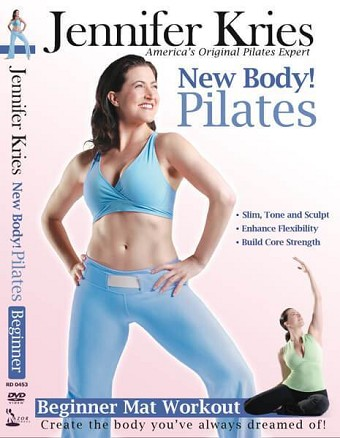 New Body Pilates Beginner Mat Workout Video on DVD - Jennifer Kries