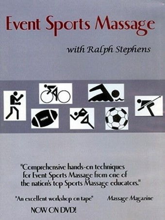 Event Sports Medical Massage Video on DVD - Ralph Stephens