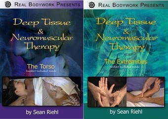 Deep Tissue NMT Massage - Torso & Extremities 2 Video DVD Set - Real Bodywork