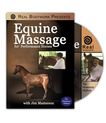 Equine Massage The Masterson Method For Horses Video on DVD - Real Bodywork