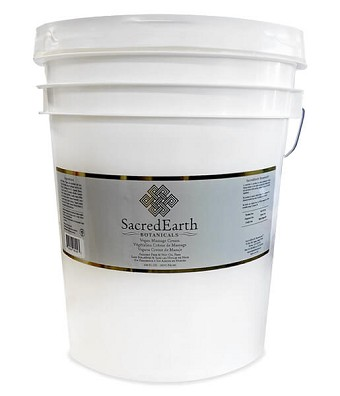 Sacred Earth Botanicals Vegan Massage Cream - 5 Gallon Pail