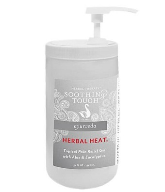 Soothing Touch Herbal Heat Pain Relief Gel - 32oz